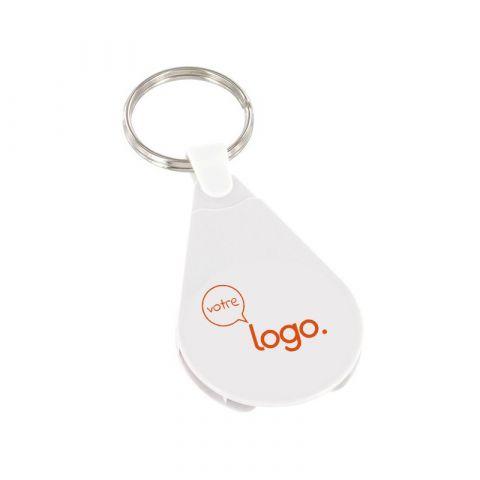 Porte-clés porte jeton personnalisé