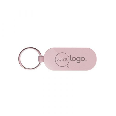 Porte-clés personnalisé en métal