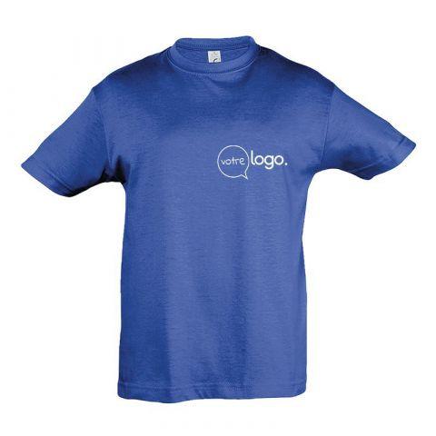 T-shirt pour enfant au col rond personnalisé publicitaire REGENT KIDS