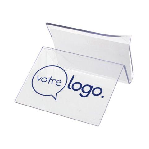 Support carte de visite et smartphone publicitaire