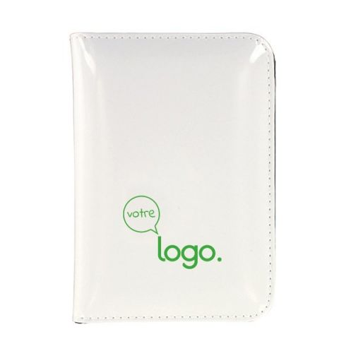 Conférencier de poche personnalisé bloc-note, calculatrice, crayon