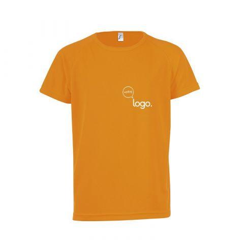 T-shirt manches raglan pour enfant personnalisé publicitaire SPORTY KIDS