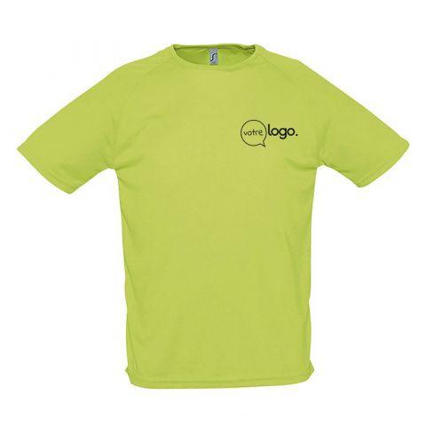 T-shirt pour homme personnalisé publicitaire SPORTY