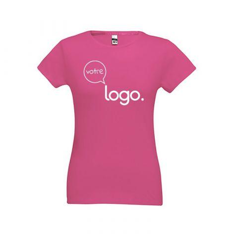 T-shirt  personnalisé publicitaire pour femme SOFIA