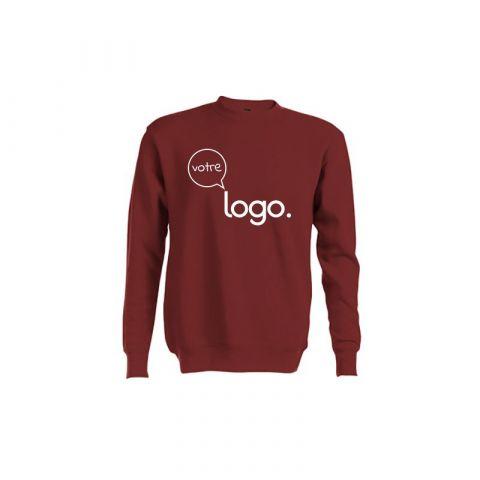 Sweat-shirt personnalisé publicitaire unisexe col rond DELTA