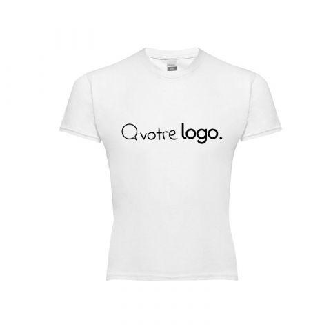 T-shirt personnalisé publicitaire enfant unisexe QUITO