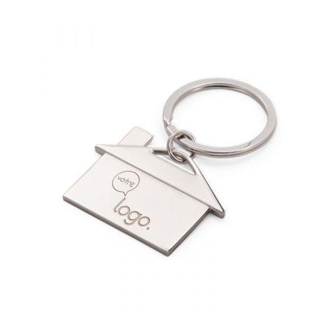 Porte-clés maison personnalisable
