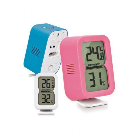 Thermometre hygrometre numérique publicitaire