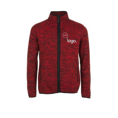 Veste polaire tricot unisexe personnalisée TURBO