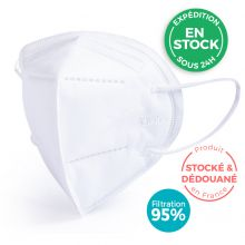 Masque de protection respiratoire FFP2 / KN95