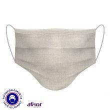 Masques barrière alternatifs en tissu - Certfié Afnor et DGA