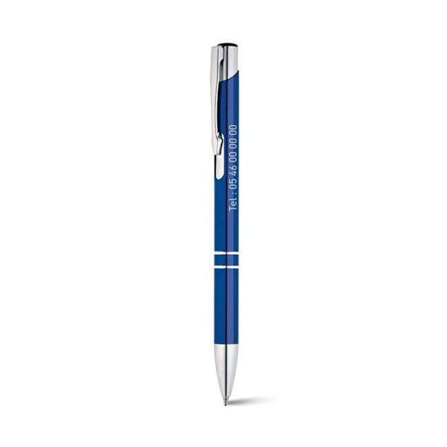 Stylo àbille personnalisé encre bleue BETA