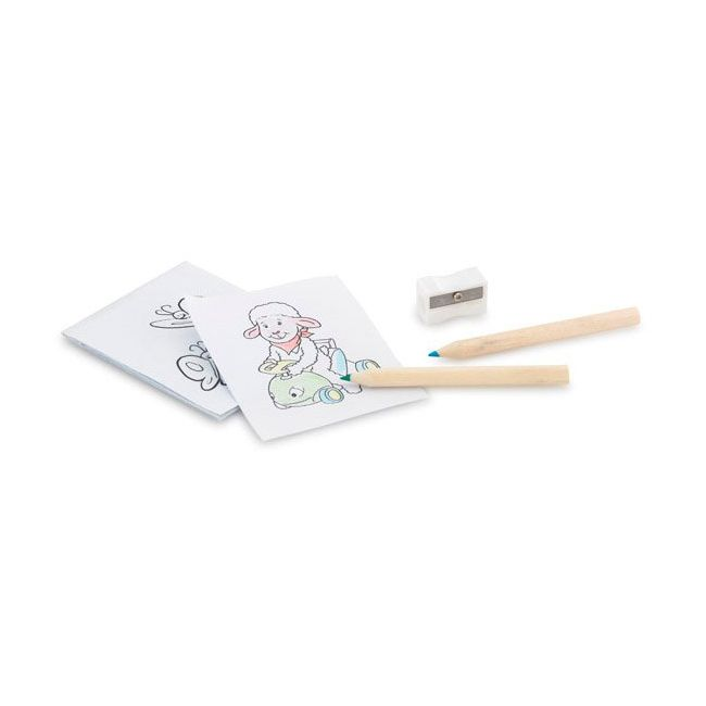 Set Coloriage Personnalise Anim Goodies Pub