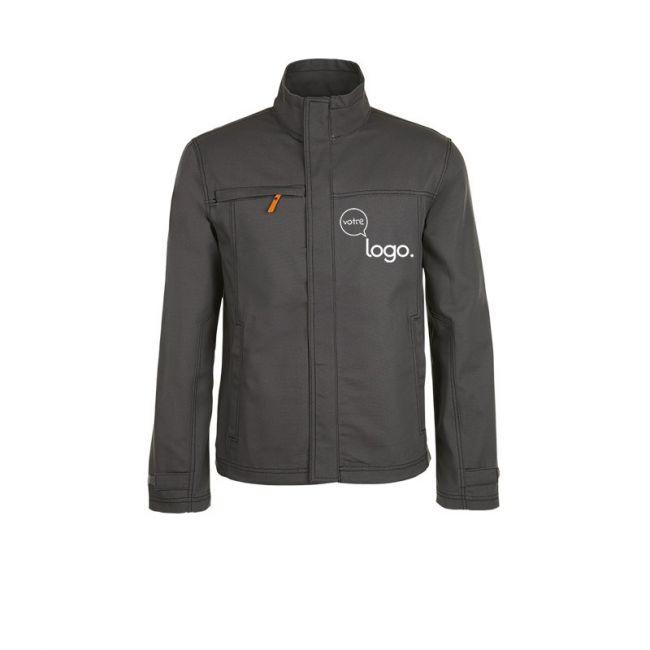 Blouson unicolore workwear homme personnalisé FORCE PRO