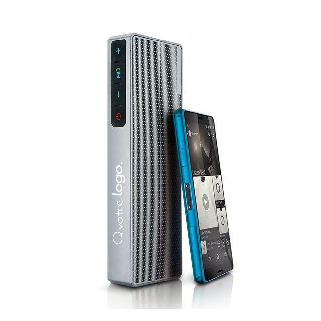 Haut-parleur, enceinte Bluetooth sans fil publicitaire