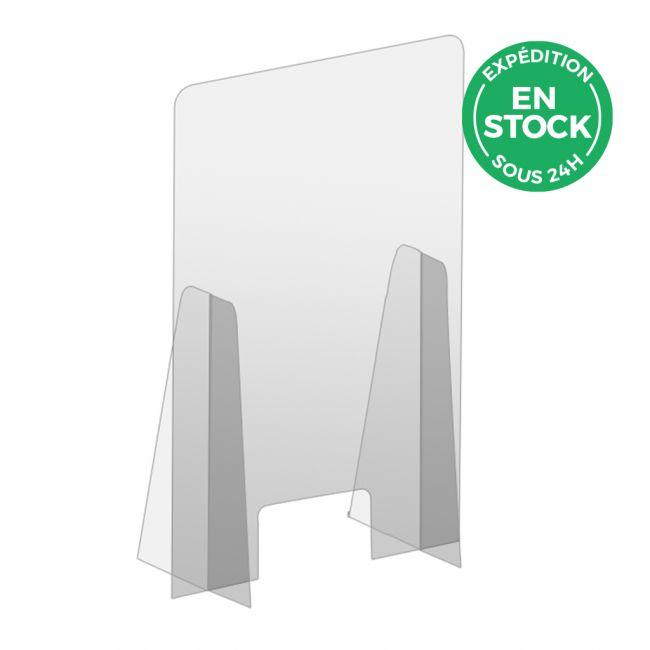 Panneau de protection en plexiglass avec fenetre
