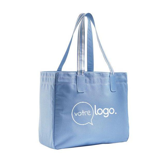 Grand sac de shopping personnalisé publicitaire RIMINI