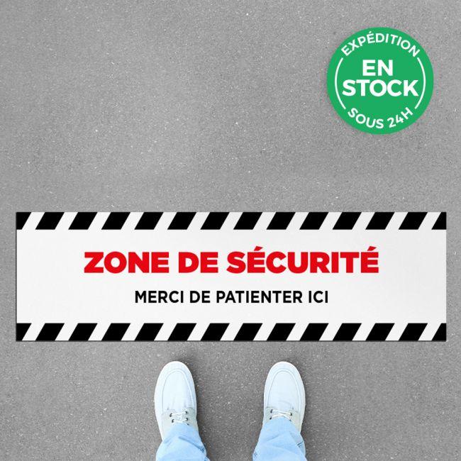 Sticker zone de sécurité